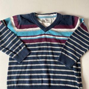 Pumpkin patch size 3 striped long sleeve jumper